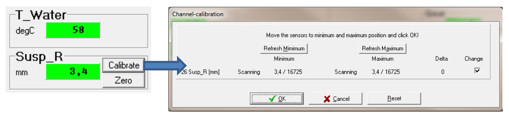calibrate channel
