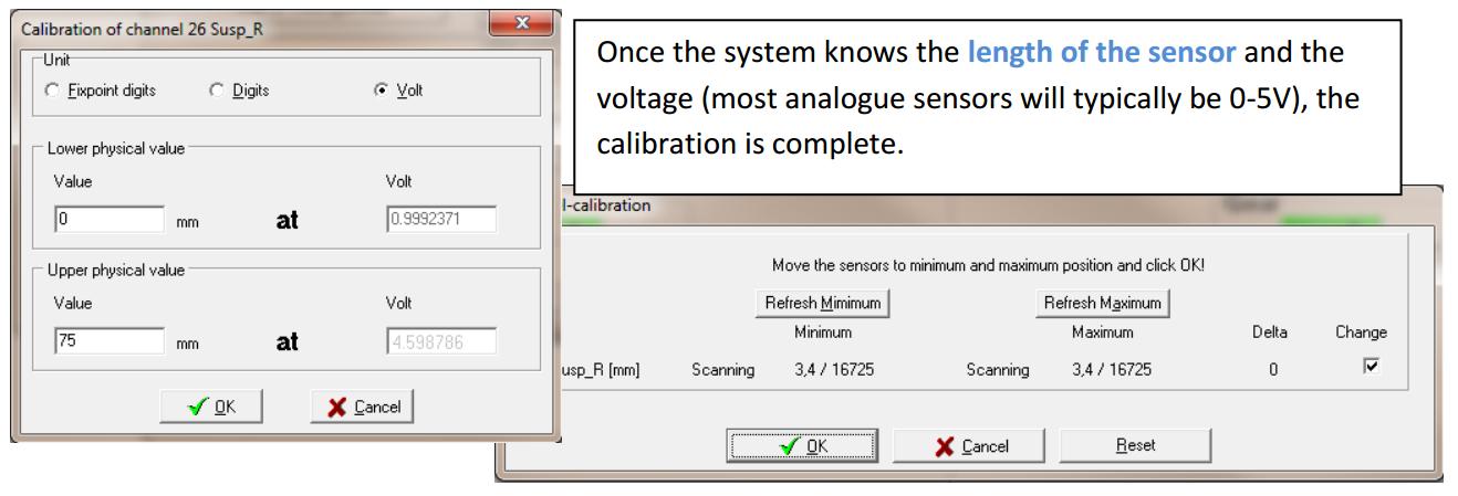 calibrate channel2